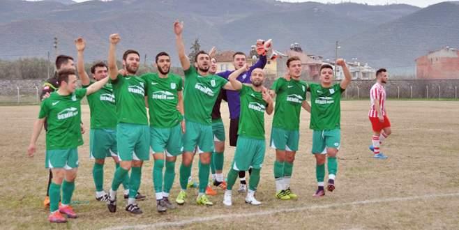 İznikspor'un Gemlik sefası! 4-0