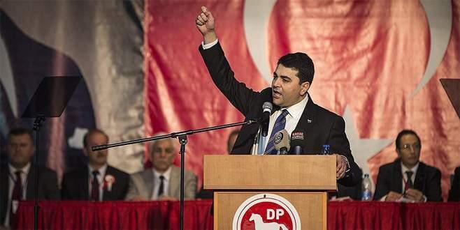 Gültekin Uysal üçüncü kez DP Genel Başkanı seçildi