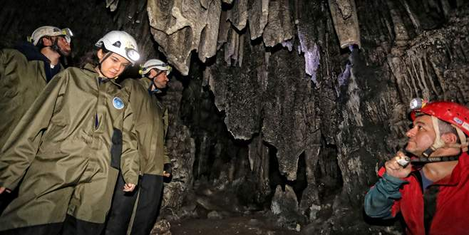 Bursa'da yeni mağara keşfedildi