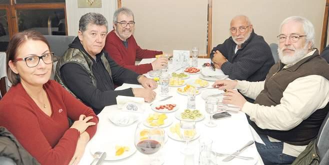 Ustaların Bursa keyfi