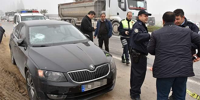 Trafikte kızıp aracının camını kırdıkları kişi savcı çıktı