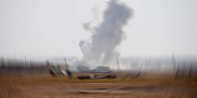 Menbiç'in batısında ÖSO ve YPG çatışıyor