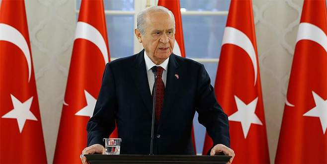 Bahçeli: 'CHP sözcüleri siz gidin PYD, PKK, FETÖ ile dertlenin'