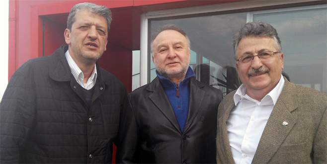 'Amacımız Bursaspor'a hizmet'