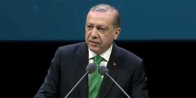 Erdoğan: Eski Türkiye artıklarının oyunlarıyla da uğraşıyoruz