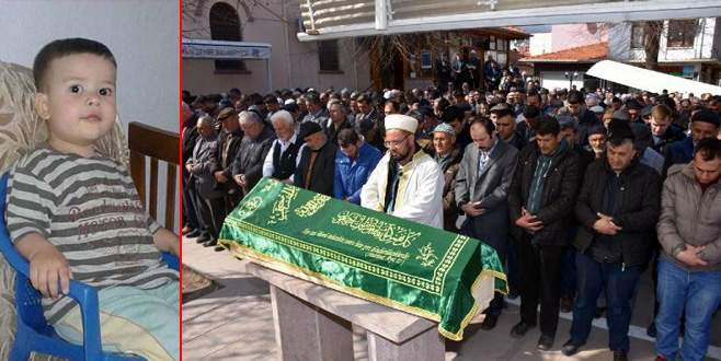 Küçük Uğur'un cenazesi toprağa verildi