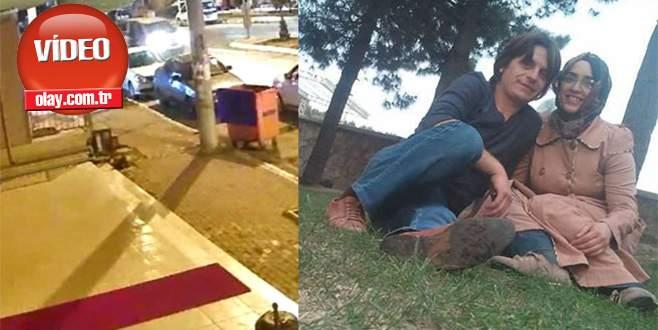 Eşine kızdı, kucağındaki bebeğiyle araçtan atladı