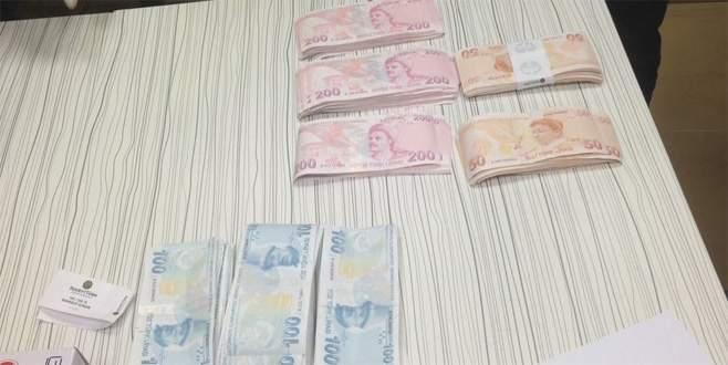 Otoyolda içi para dolu çanta bulundu