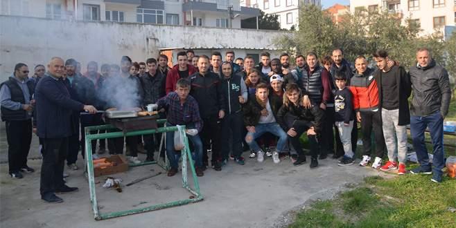 Mudanyaspor'a mangallı moral