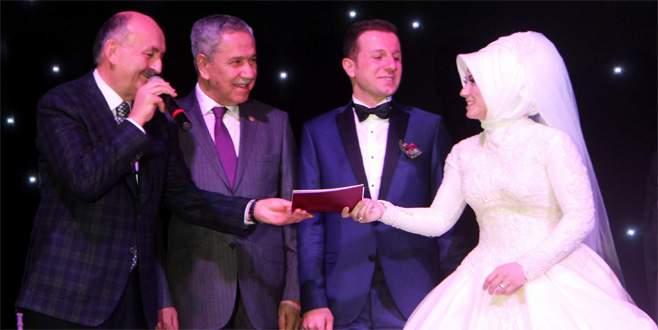 Bakan Müezzinoğlu nikah şahidi oldu