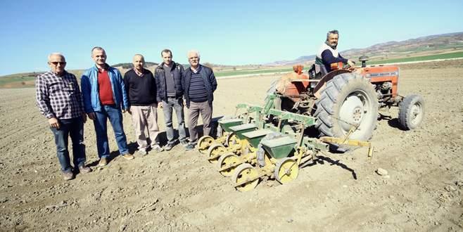 Yenişehir'de pancar ekimine ilgi arttı