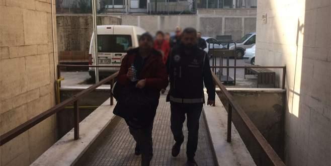 Bursa merkezli FETÖ operasyonunda 3 kişi adliyeye sevk edildi