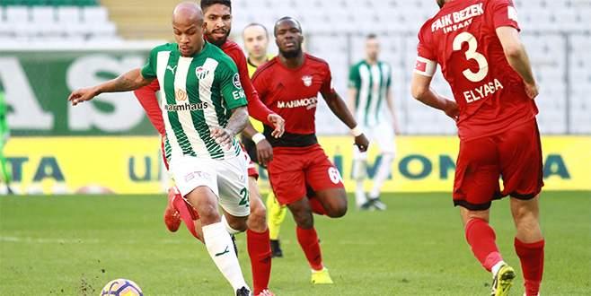 Bursaspor, şut sayısını arttırdı