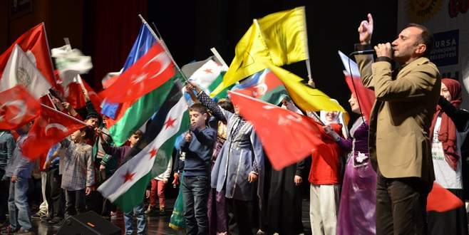 Bursa'da yetim dayanışma gecesi