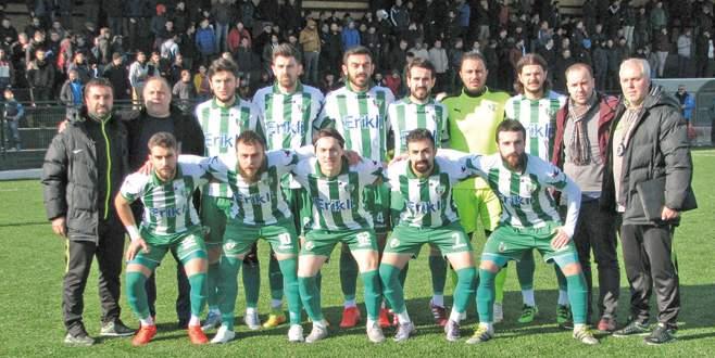 Bursa'nın parlayan yıldızı Kestel Belediyespor