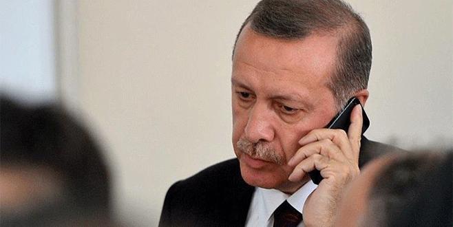 Cumhurbaşkanı Erdoğan'dan Kavlak'a taziye telefonu