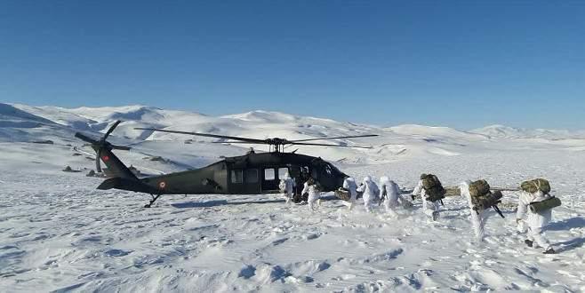 PKK'ya kışın da göz açtırılmadı