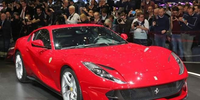 Ferrari'nin en hızlısı haziranda Türkiye'de