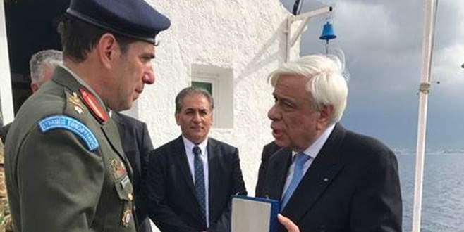 Yunan Cumhurbaşkanı'ndan tartışmalı ziyaret