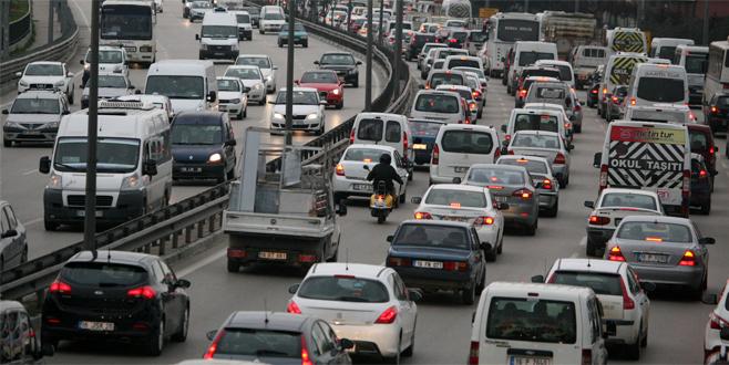 Bursa'da trafiğe Başbakan ayarı!