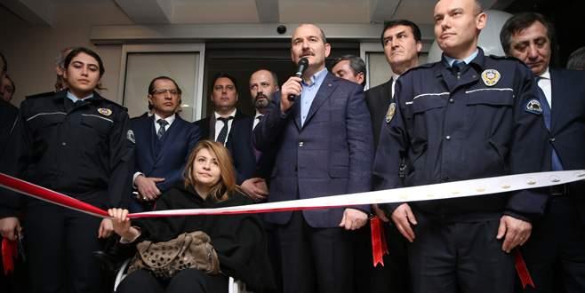 Bakan Soylu, Bursa'da 'Çarşı Polis Merkezi'nin açılışına katıldı