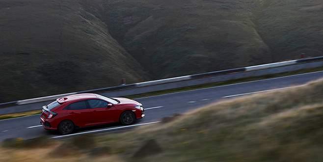 Yeni Honda Civic Hatchback İnallar'da tanıtıldı