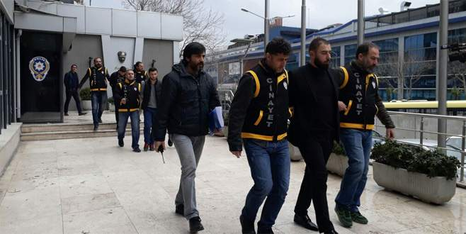 Bursa'daki yan bakma kavgasında 4 kişi yakalandı
