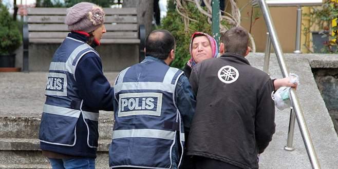 Bursa'da anne oğul hayatının şokunu yaşadı