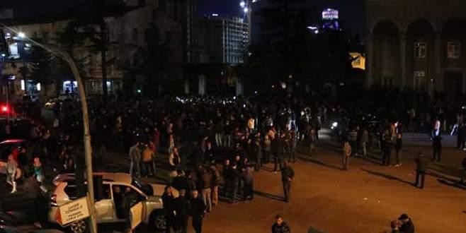 Gürcülerin polis isyanı