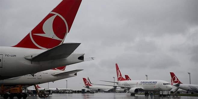 THY'den 'Amerika' yolcularına kar fırtınası uyarısı
