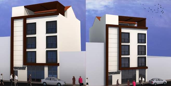 Karacabey'e modern barınma evi