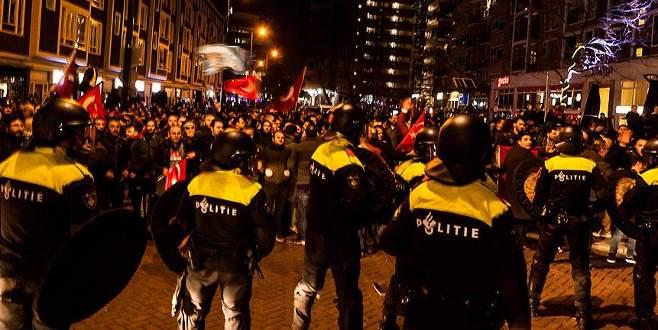 Hollanda skandalında ateş izni verilmiş
