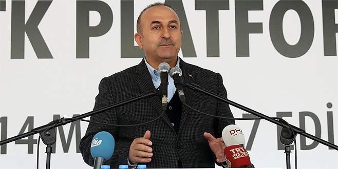 Çavuşoğlu: 'Avrupa vize konusunda bizi oyalamasın'