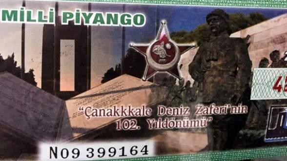 Milli Piyango 'Çanakkale' biletlerinde şoke eden hata