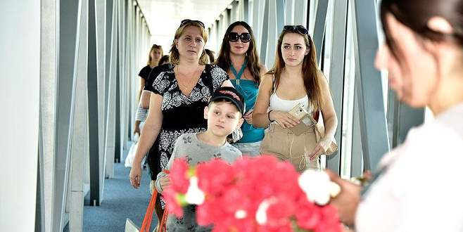 Turizmde hedef 5 milyon Rus turist