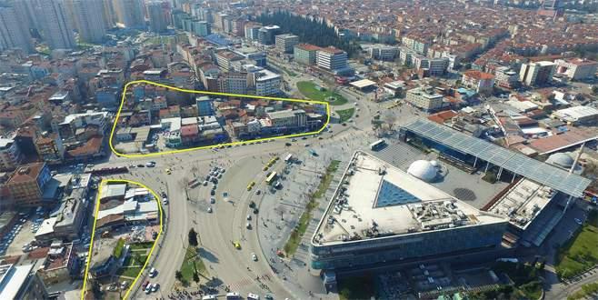 Bursa'da Kent Meydanı'nda büyük dönüşüm