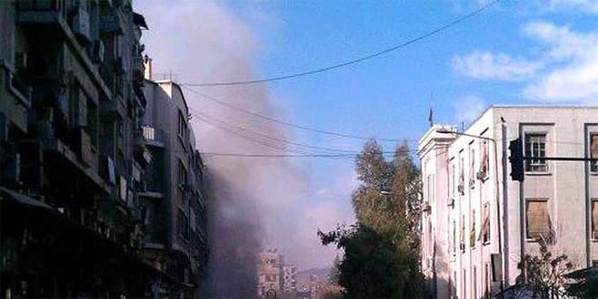 Şam'da adalet sarayına intihar saldırısı
