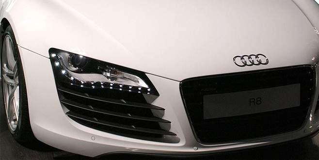 Audi tesislerinde arama
