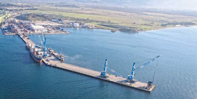 Başbakan liman için Gemlik'i işaret etti