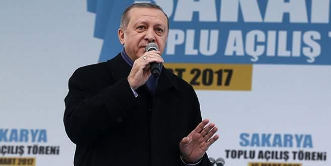 Erdoğan: 'Bunlar haçla hilal mücadelesini başlattılar'