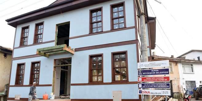 Tarihi okul binasını Büyükşehir yeniliyor