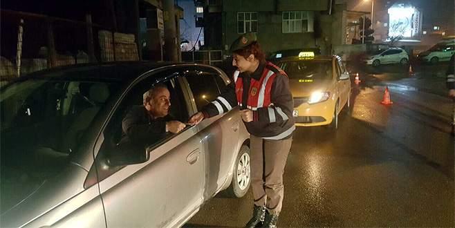Bursa'da Jandarmadan huzur operasyonu