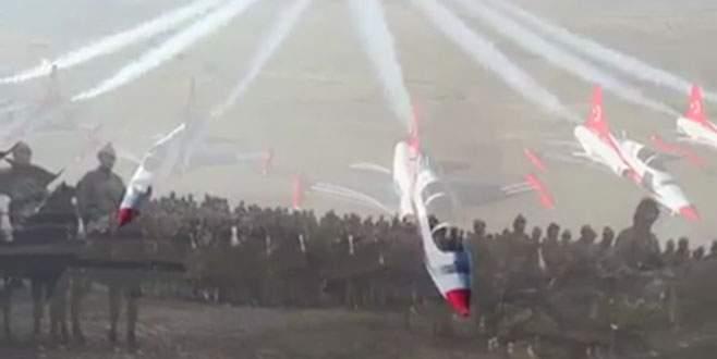 Türk Yıldızları'ndan duygulandıran video