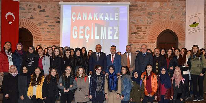 Osmangazi'de 'Çanakkale' konferansı