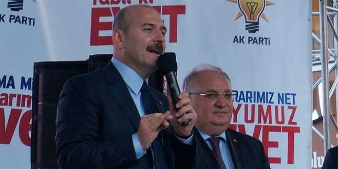 Soylu: 'PKK'ya ve FETÖ'ye can suyu vermeye çalışıyorsun'