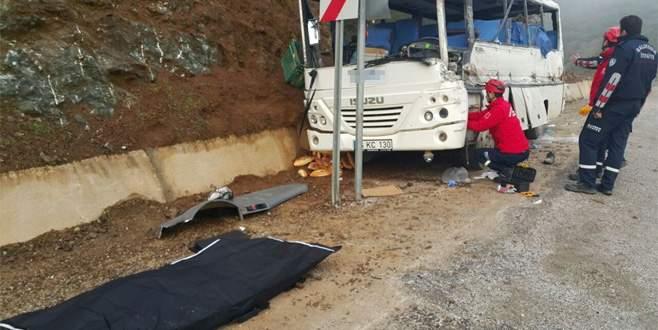 Bursa'da korkunç kaza: 2 ölü, 24 yaralı