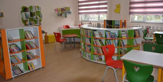 İlköğretim okuluna 'Z kütüphane'