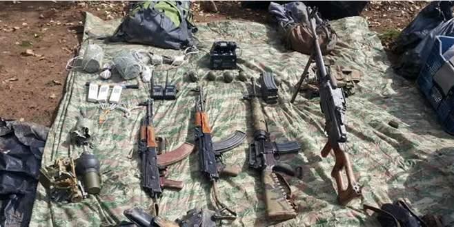 PKK sığınağında ısı güdümlü füze bulundu