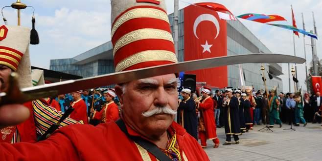 Bursa'da baharın gelişi böyle kutlandı