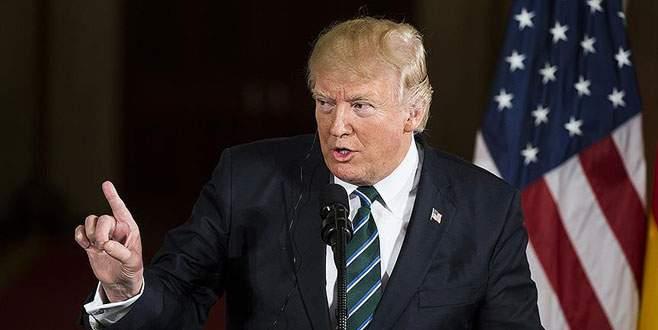 Trump'tan terörle mücadele desteği